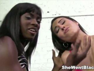 Cute Rachel Rose gets fucked by a big black dick