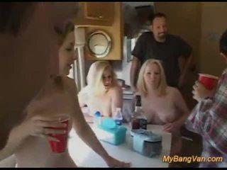 brunette, hardcore sex, blondes