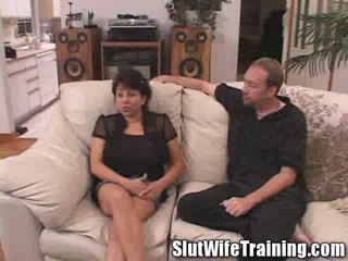 Susies Husband Randy Watches While She is prostitute Trained