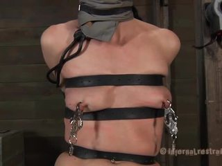 Taming a lusty gagged babe