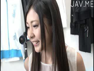kwaliteit tieten vid, neuken klem, mooi japanse