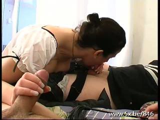 Lea In Maid Uniform Gets Fucked