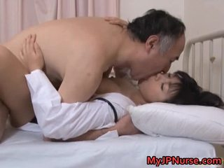 Japanese Doctor Is Horny For Dong