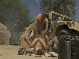 Excited jadra holly receives fucked mahirap at cummed by an hukbo soldier
