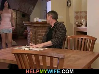 Young wife banged by hubby's best friend