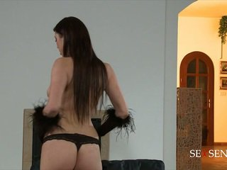 brunette see, ideal sucking best, most oil see