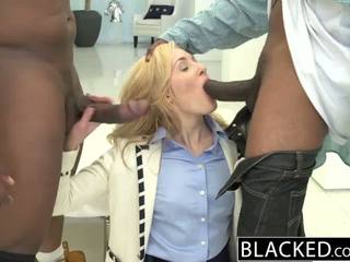 Blacked 2 suur mustanahaline dicks jaoks rikas valge tüdruk