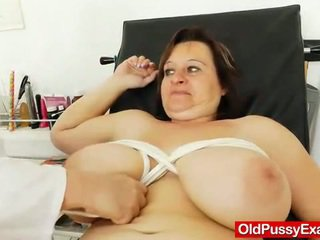 Great Milf Black Haired Has A Gyno