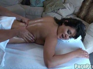 Massage with doggystyle fucking