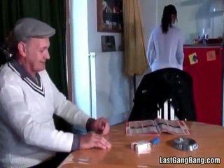 Maduros francesa sult tries jovem grávida cona