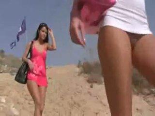 Naughty Teens At Beach