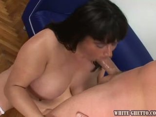 Smut Heavy Dame Loves Having Without A Stitch On For A Erotic Teenaged Stud