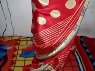 Satäng silke saree piga, fria indisk porr video- 33