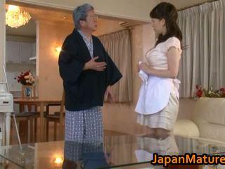 मेच्यूर जपानीस महिला बकवास ट्यूब