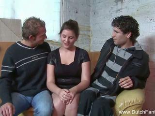 Random 네덜란드 삼인조 에 holland, 무료 포르노를 ea