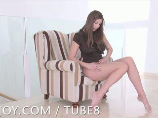 brunete, big boobs, solo