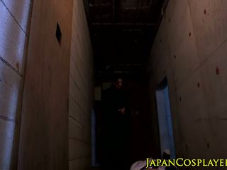 Busty japanese ninja Julia pounded