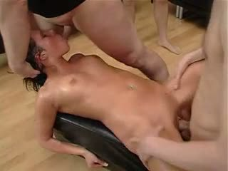 Rough Gangbang 1: Free BDSM Porn Video 54