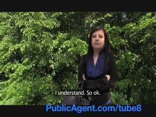 PublicAgent Eva takes cash for sex in ...