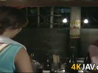 Küpsemad jaapani tüdruk getting perses