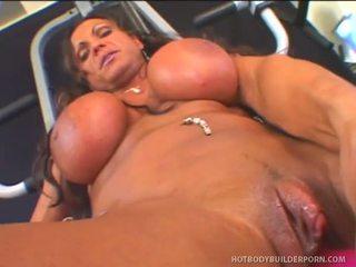 Rhonda lee works rod fontana s любов muscle