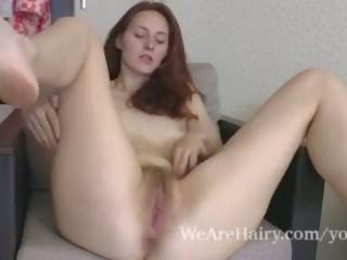 schlank, striptease, redheads