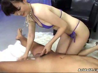 Ai himeno loves 수탉 볶다 과 그룹 masturbation