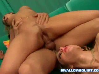 Horny Tiana Lynn squirt on her gf Angela Stone