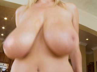 Kelly Madison is a hot titty babe jerking cock