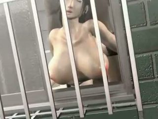 Smoking hot hentai cutie takes cock in her dripping cunt