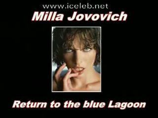 Milla Jovovich Hot Sexy Clips