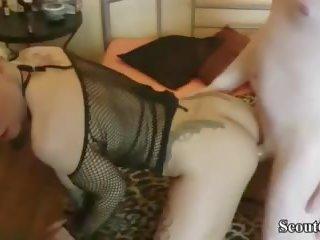 German Amateur Teen Mia in Real Fuck with Big Dick User
