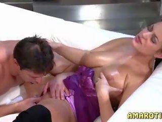 full brunettes sex, real high heels, titty fucking