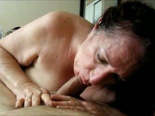 oraal neuken, grootmoeder porno, controleren oma seks