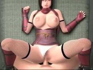 Pussy drilled hentai cutie cumming her pussy juices