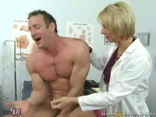 Sexy Hospital Nurses Get Down on Some Ball Licking Fun