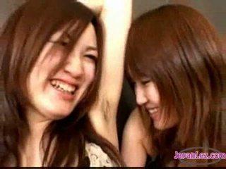 schattig, zien japanse, lesbiennes