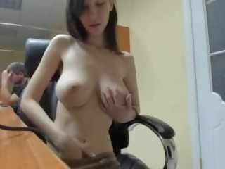 tits, brunette channel, best webcam posted