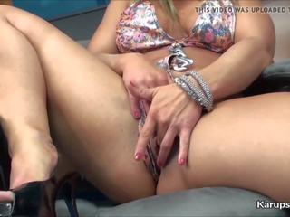 Mature women solo sex videos