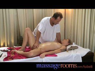 Massagem rooms bela jovem meninas obter apertada holes filled por grande difícil caralho