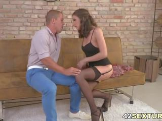 Henessy Rides a Dick Anally, Free Rides Dick HD Porn 18