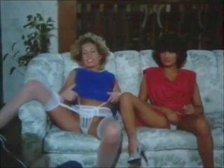 brunette, full french clip, big tits