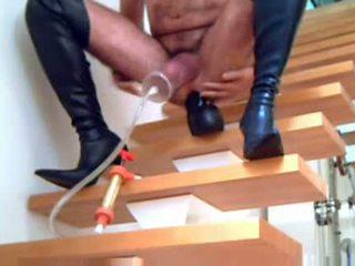 laarzen video-, vol crossdressing