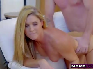 Cheating Wife India Summer Plays with Stepsons Cock S7