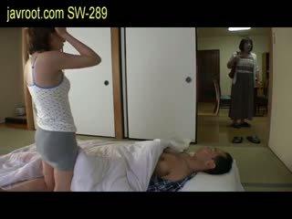 japānas, bērns, mazs krūtis