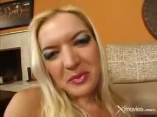This horny blonde wants a real big black cock