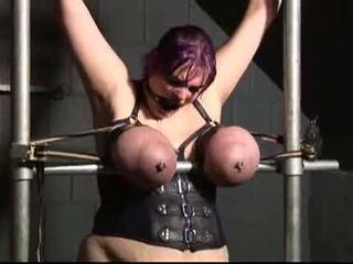 BBBW Housewife Ann punished in slut prison