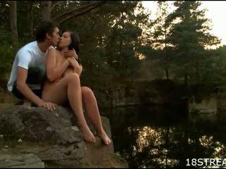 hardcore sex scene, outdoor sex clip, pussy fucking scene