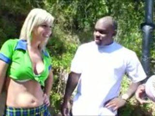 ดื้อ เด็กนักเรียนหญิง tara lynn foxx gets a หยาบคาย double เพศสัมพันธ์