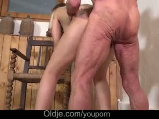 Big Old Cock Teaching Teenie Anal Fuck Positions While Masturbating Pussy Video